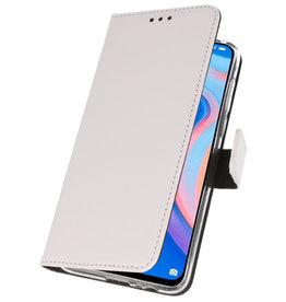 Wallet Cases Hülle für Huawei P Smart Z White