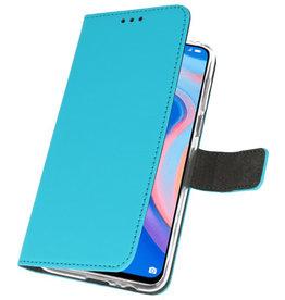 Wallet Cases Hoesje voor Huawei P Smart Z Blauw