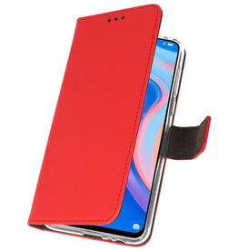 Wallet Cases Hoesje voor Huawei P Smart Z Rood