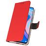 Wallet Cases Hülle für Huawei P Smart Z Red