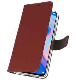 Wallet Cases Case for Huawei P Smart Z Brown