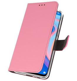 Wallet Cases Hülle für Huawei P Smart Z Pink