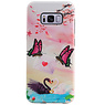 Butterfly Design Hardcase Backcover for Samsung Galaxy S8