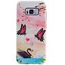 Butterfly Design Hardcase Backcover für Samsung Galaxy S8