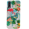 Flamingo Design Hardcase Backcover voor Samsung Galaxy A70