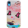Butterfly Design Hardcase Backcover for iPhone XR