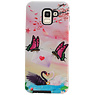 Butterfly Design Hardcase Backcover für Samsung Galaxy J6