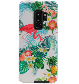 Flamingo Design Hardcase Backcover for Samsung Galaxy S9 Plus