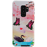 Butterfly Design Hardcase Backcover for Samsung Galaxy S9 Plus