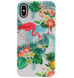 Flamingo Design Hardcase Backcover for iPhone XS Max