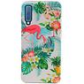 Flamingo Design Hardcase Backcover for Samsung Galaxy A7 2018