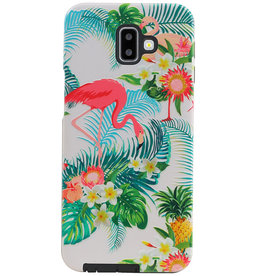 Flamingo Design Hardcase Backcover für Samsung Galaxy J6 Plus