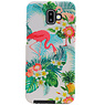 Flamingo Design Hardcase Backcover for Samsung Galaxy J6 Plus