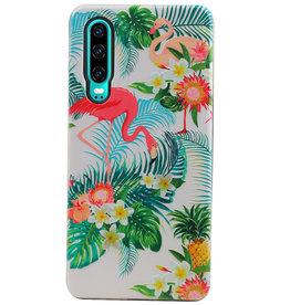 Flamingo Design Hardcase Backcover voor Huawei P30