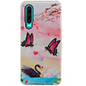 Butterfly Design Hardcase Backcover für Huawei P30