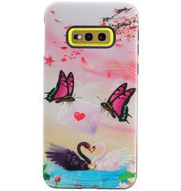 Butterfly Design Hardcase Backcover für Samsung Galaxy S10e