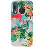 Flamingo Design Hardcase Backcover für Samsung Galaxy A30