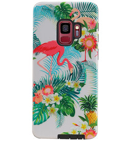 Flamingo Design Hardcase Backcover für Samsung Galaxy S9