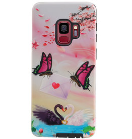 Butterfly Design Hardcase Backcover for Samsung Galaxy S9