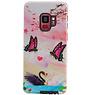 Butterfly Design Hardcase Backcover für Samsung Galaxy S9