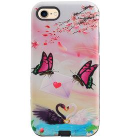 Vlinder Design Hardcase Backcover voor iPhone 8 / 7
