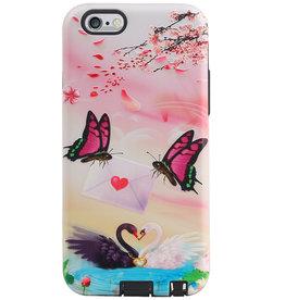 Butterfly Design Hardcase Backcover für iPhone 6