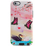 Butterfly Design Hardcase Backcover for iPhone 6