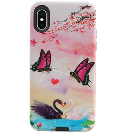 Butterfly Design Hardcase Backcover for iPhone X / XS