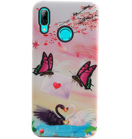 Butterfly Design Hardcase Backcover for Huawei P Smart 2019