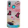 Butterfly Design Hardcase Backcover für Huawei P Smart 2019