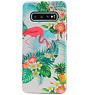 Flamingo Design Hardcase Backcover voor Samsung Galaxy S10 Plus