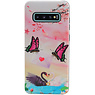 Butterfly Design Hardcase Backcover für Samsung Galaxy S10 Plus