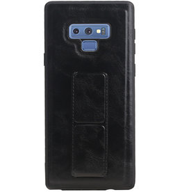 Grip Stand Hardcase Backcover for Samsung Galaxy Note 9 Black