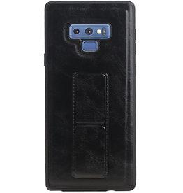 Grip Stand Hardcase Backcover für Samsung Galaxy Note 9 Schwarz