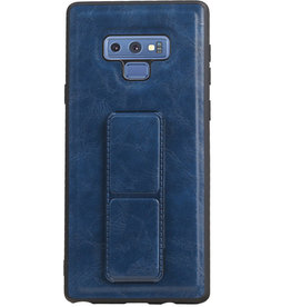 Grip Stand Hardcase Backcover voor Samsung Galaxy Note 9 Blauw