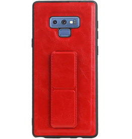 Grip Stand Hardcase Backcover for Samsung Galaxy Note 9 Red