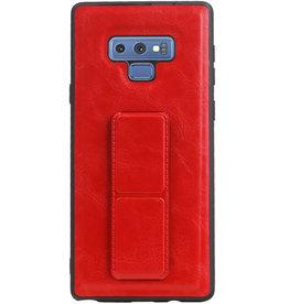 Grip Stand Hardcase Backcover für Samsung Galaxy Note 9 Red