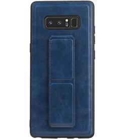 Grip Stand Hardcase Backcover für Samsung Galaxy Note 8 Blue
