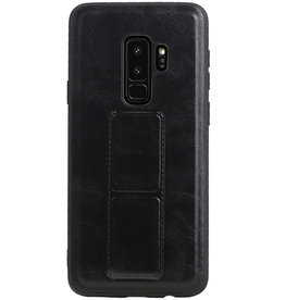Grip Stand Hardcase Backcover for Samsung Galaxy S9 Plus Black
