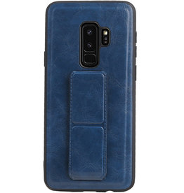 Grip Stand Hardcase Backcover für Samsung Galaxy S9 Plus Blue