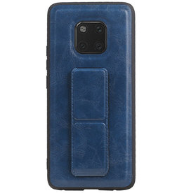 Grip Stand Hardcase Backcover for Huawei Mate 20 Pro Blue