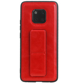 Grip Stand Hardcase Backcover for Huawei Mate 20 Pro Red