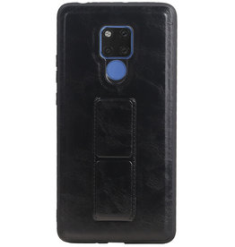 Grip Stand Hardcase Backcover for Huawei Mate 20 X Black