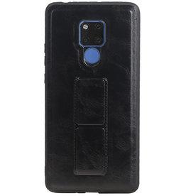 Grip Stand Hardcase Backcover für Huawei Mate 20 X Schwarz