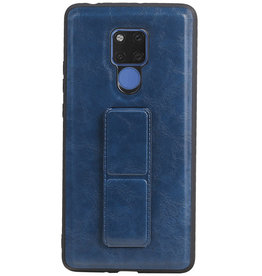 Grip Stand Hardcase Backcover für Huawei Mate 20 X Blue