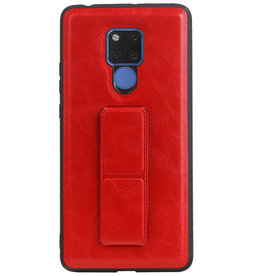 Grip Stand Hardcase Backcover für Huawei Mate 20 X Red