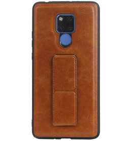 Grip Stand Hardcase Backcover für Huawei Mate 20 X Brown