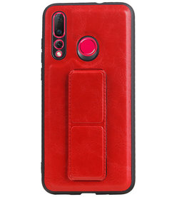 Grip Stand Hardcase Backcover für Huawei Nova 4 Red