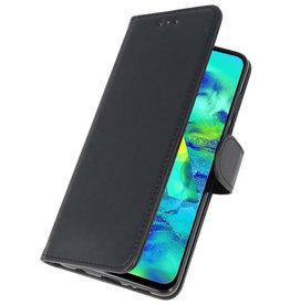 Bookstyle Wallet Cases Hülle für Samsung Galaxy M40 Schwarz