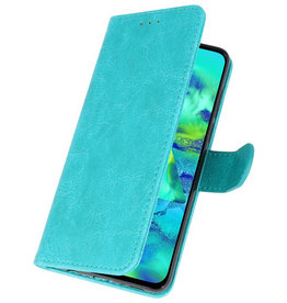 Bookstyle Wallet Cases Case for Samsung Galaxy M40 Green